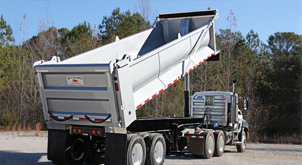 Full Frame Ox End Dump Trailers