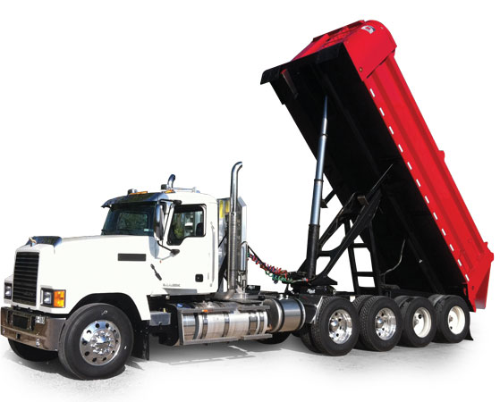 Quarter Frame Ox End Dump Trailers