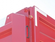 Heavy duty, steel removable tailgate hinge pin.