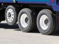 Optional steel & aluminum wheels in various sizes and multiple tire configurations.